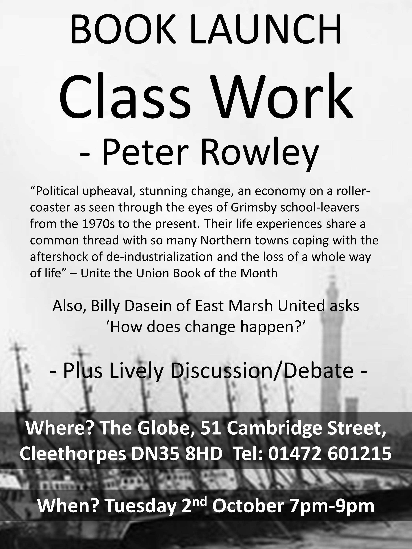 Class Work - Talk at Globe Poster