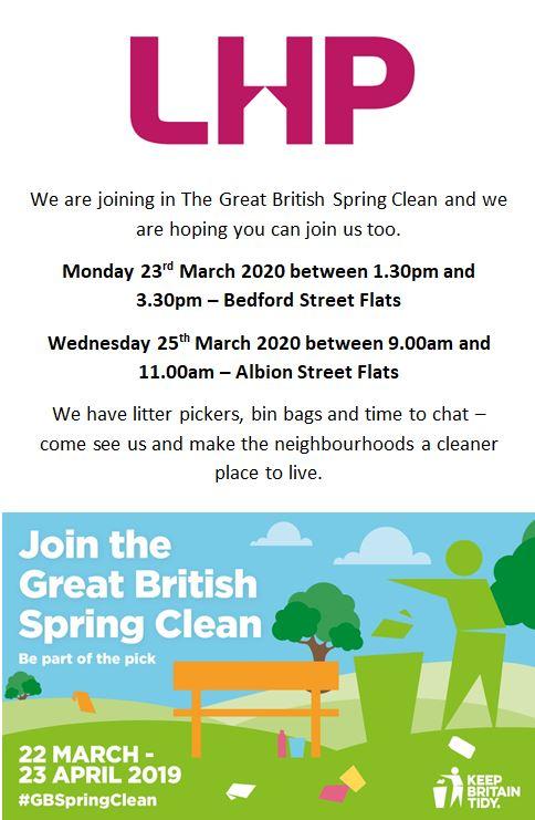 LHP Spring Clean